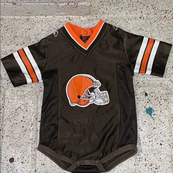 online store c0b5a d70ff Reebok NFL Cleveland Browns Baby Bodysuit